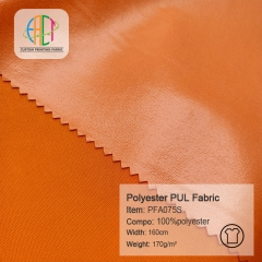 PFA075S Waterproof Diaper PUL Fabric MOQ=30m