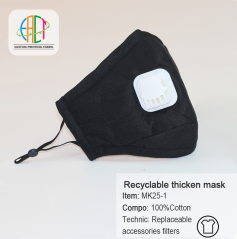 Wholesale reusable thicken replaceable accessories filter mask