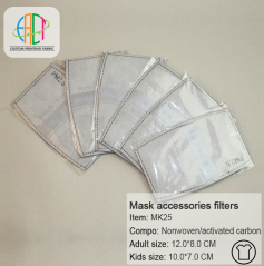 Wholesale 5 layers activated carbon mask accessories filters