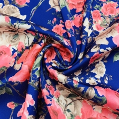 PDC50 Custom Printed Poly Satin Chiffon Fabric 85gsm