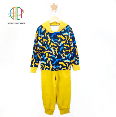 BC008 Custom Printed 2-Pieces Set for Kids Low MOQ