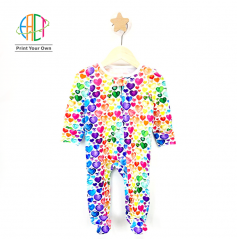 BC005 Custom Printed Rompers for Kids Low MOQ