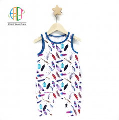 BC001 Custom Printed Rompers for Kids Low MOQ