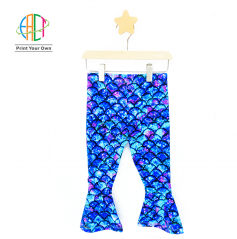 BC017 Custom Printed Trousers for Kids Low MOQ